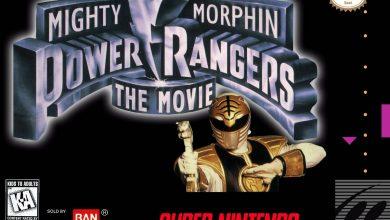 Power Rangers 1993 SNES