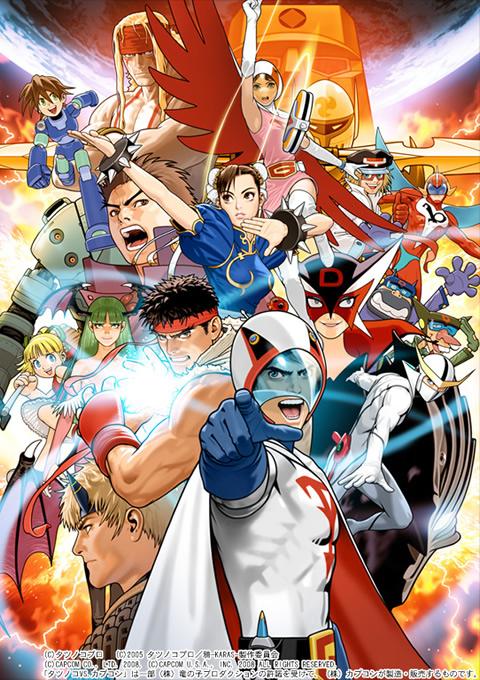 É oficial! Tatsunoko vs Capcom virá para os EUA!! [Wii] Wp1_1024