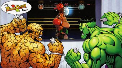 Photo of Hulk & Ben Grimm jogam Wii