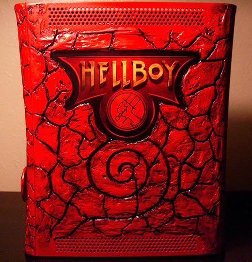 Case Mod | O infernal Xbox 360 do Hellboy! — Portallos