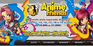Photo of Especial Anime Friends 2009 – Eu Fui!