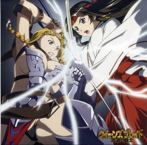 Você já sabe quais são os novos animes de Outubro no Japão? Queens-Blade-Gyokuza-wo-Tsugu-Mono