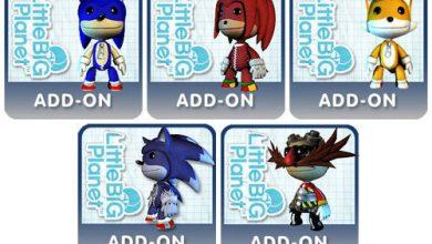Photo of Skins de Sonic Unleashed para LittleBigPlanet [PS3]