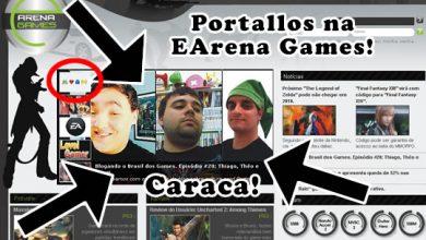 Photo of Bastidores: Blog ganha entrevista na EArena Games!