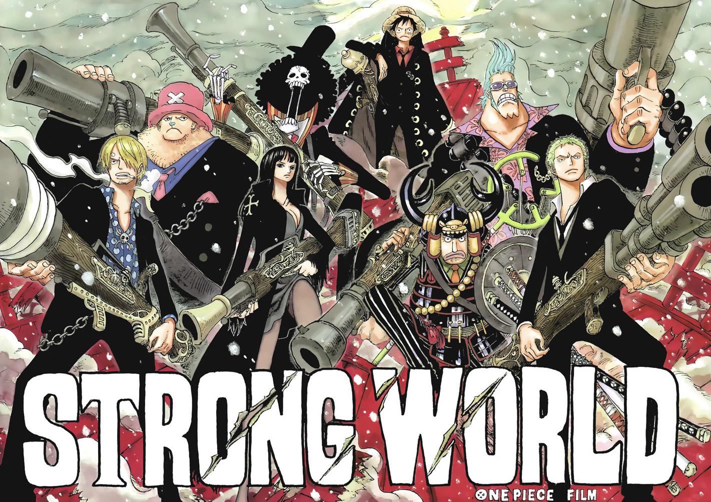 Conversa de Mangá: One Piece Zero! Strong World — Portallos
