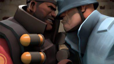 Photo of Team Fortress 2   War Update! (Demoman versus Soldier)