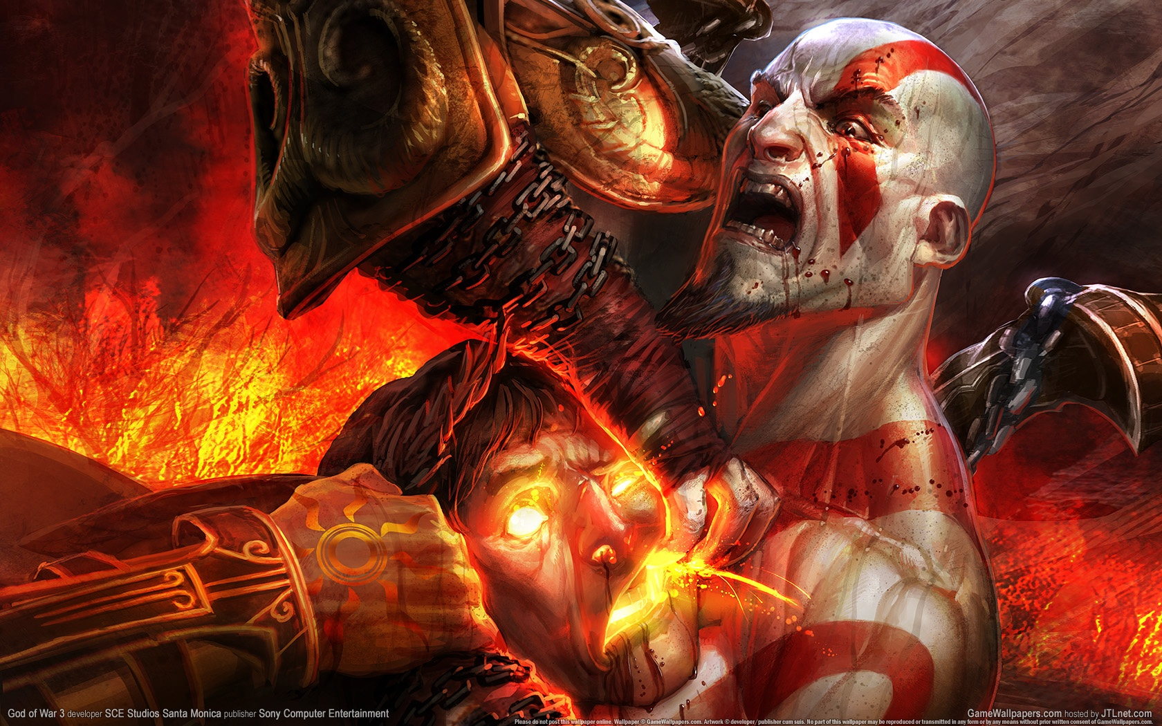 Photo of Wallpaper do dia: God of War III!