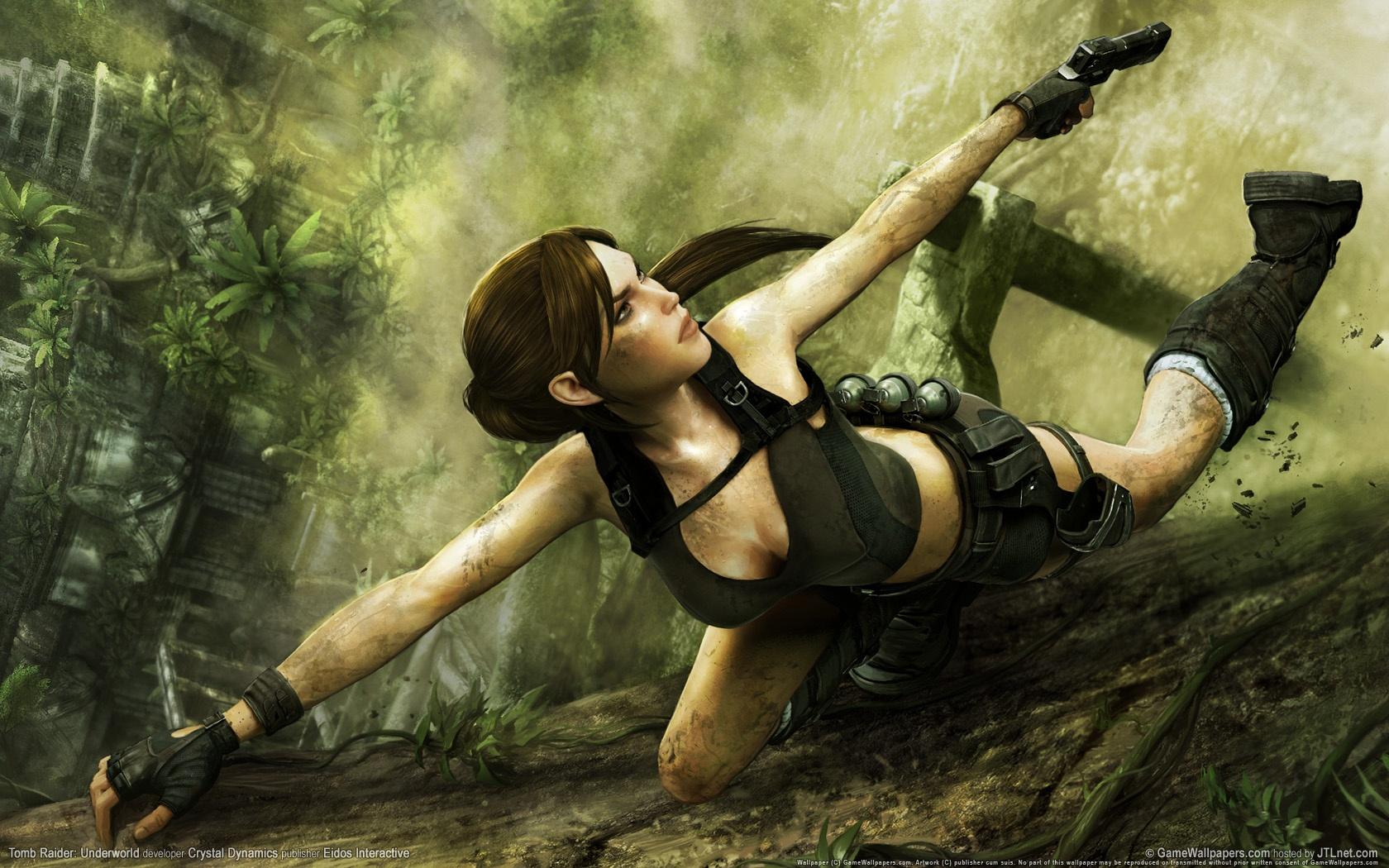 Photo of Wallpaper do dia: Tomb Raider: Underworld!