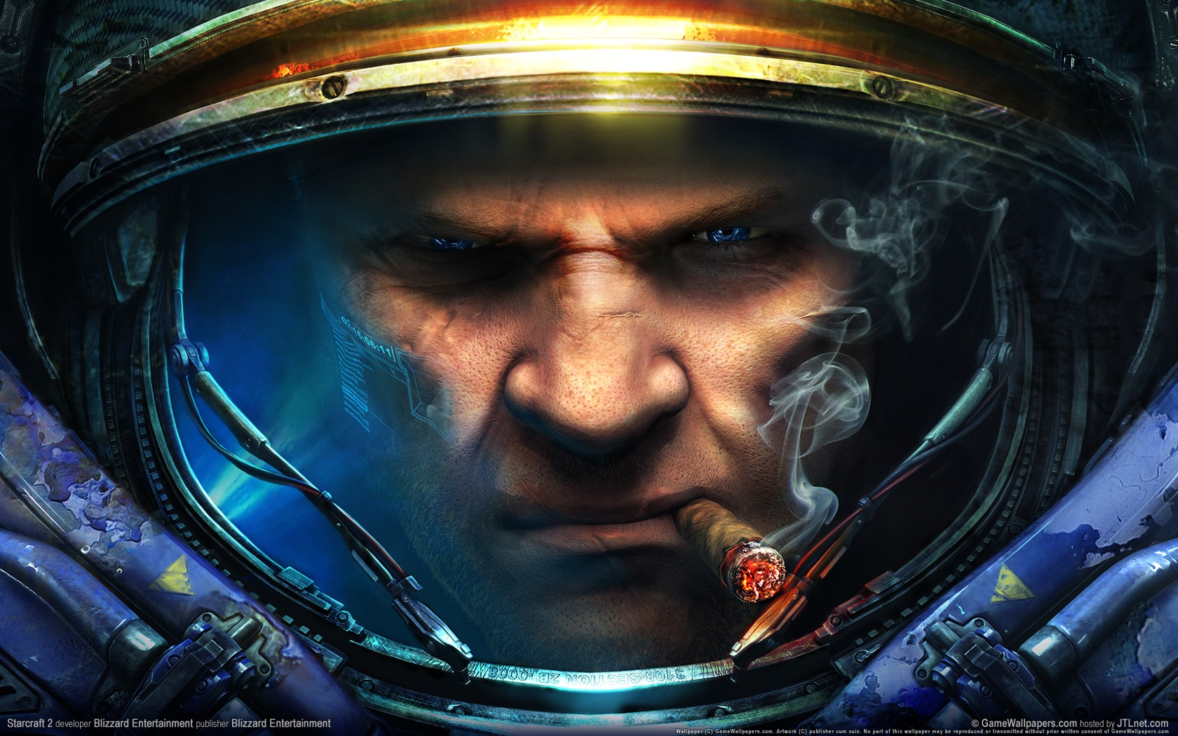 Photo of Wallpaper do dia: StarCraft II!