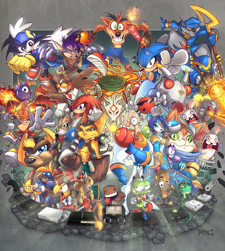 Photo of Reflexão | O que seria dos Videogames sem suas mascotes?