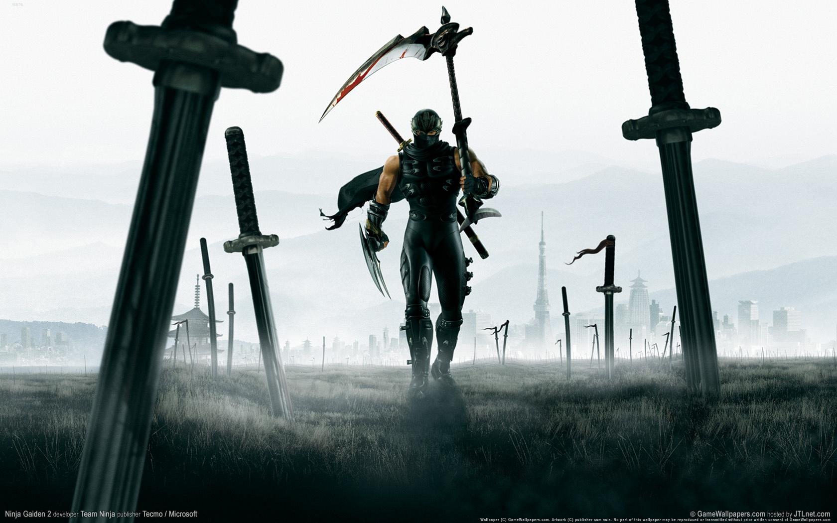 Photo of Wallpaper do dia: Ninja Gaiden 2!
