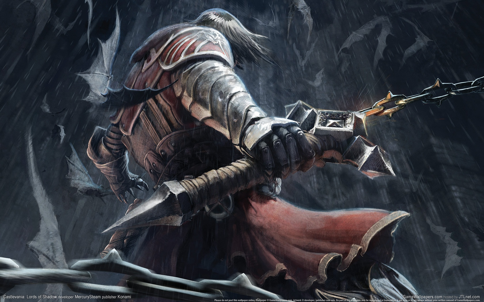 Photo of Wallpaper do dia: Castlevania: Lords of Shadow!