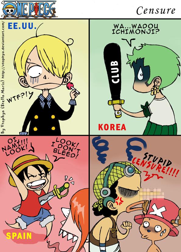 Photo of One Piece: lembra da versão 4kids? Certas burradas nunca são esquecidas… (Censura)
