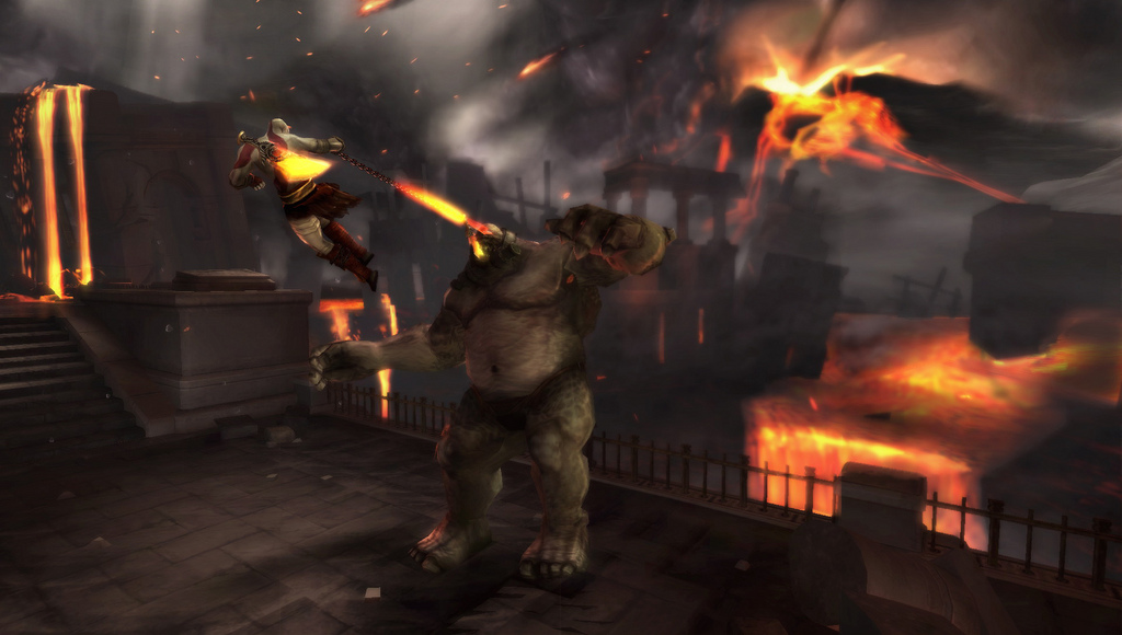 Photo of Kratos retorna em God of War: Ghost of Sparta! (PSP)