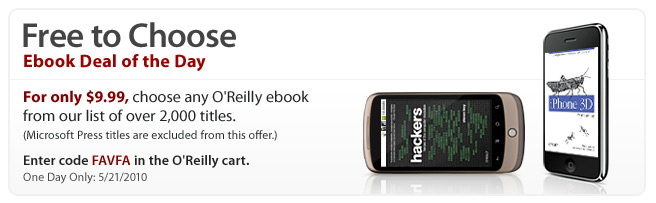 Photo of Dica: Promoção da O'Reilly, escolha um Ebook e pague U$9,99! (apenas hoje!) [Atualizado]