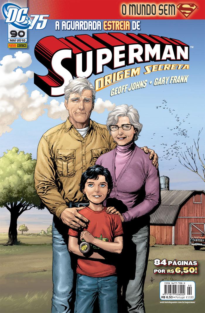 Photo of Você conhece o Superman? Conheça sua nova origem! [Superman nº90] [MdQ]