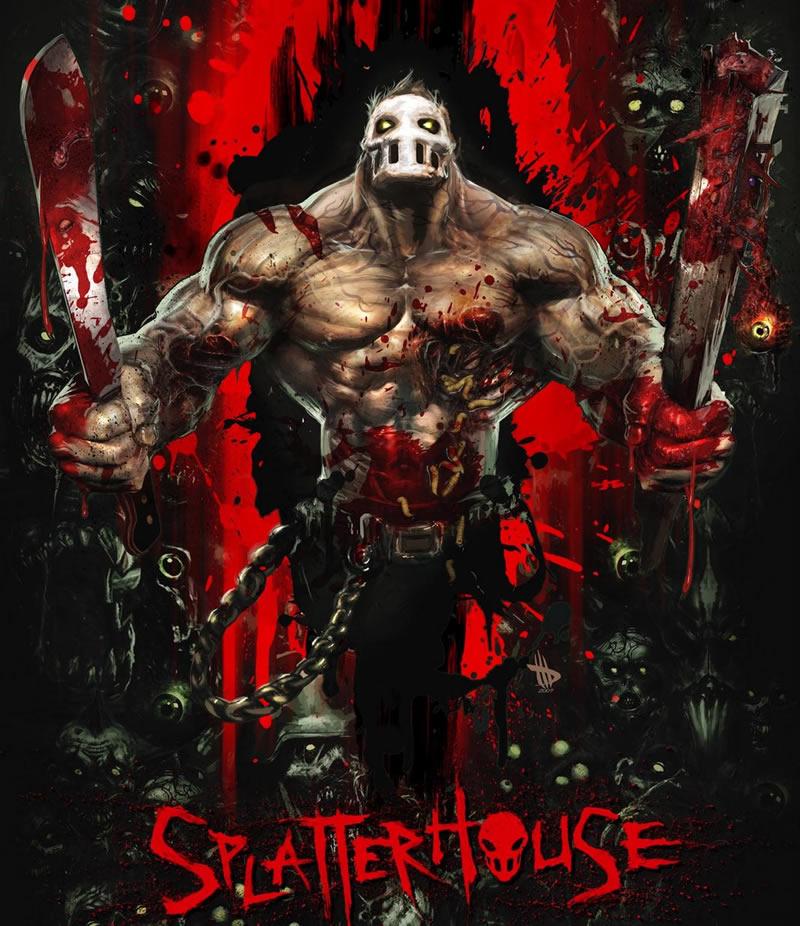 Photo of Splatterhouse ganha mais um trailer e deve sair ainda em 2010! Remake do clássico de 1988!