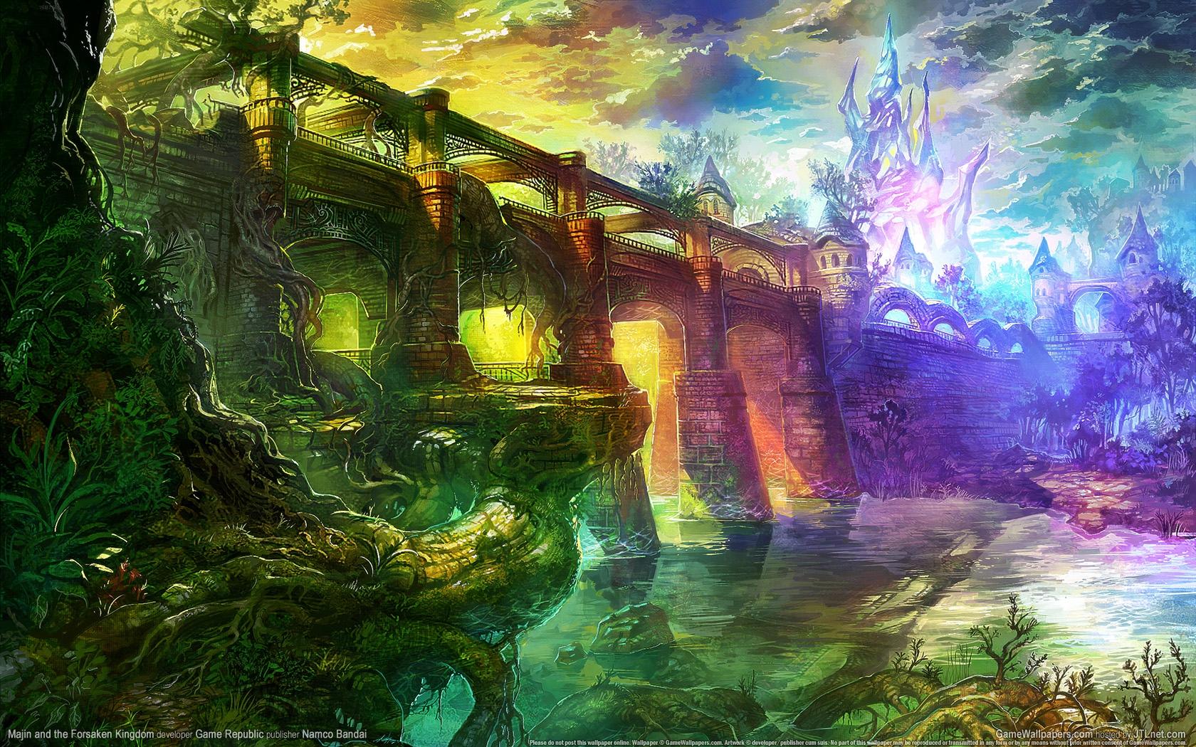 Photo of Wallpaper do dia: Majin and the Forsaken Kingdom!