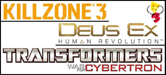 Photo of E3 2010: Surgem novos vídeos de Killzone 3, Deus Ex Human Revolution e Transformers War for Cybertron!