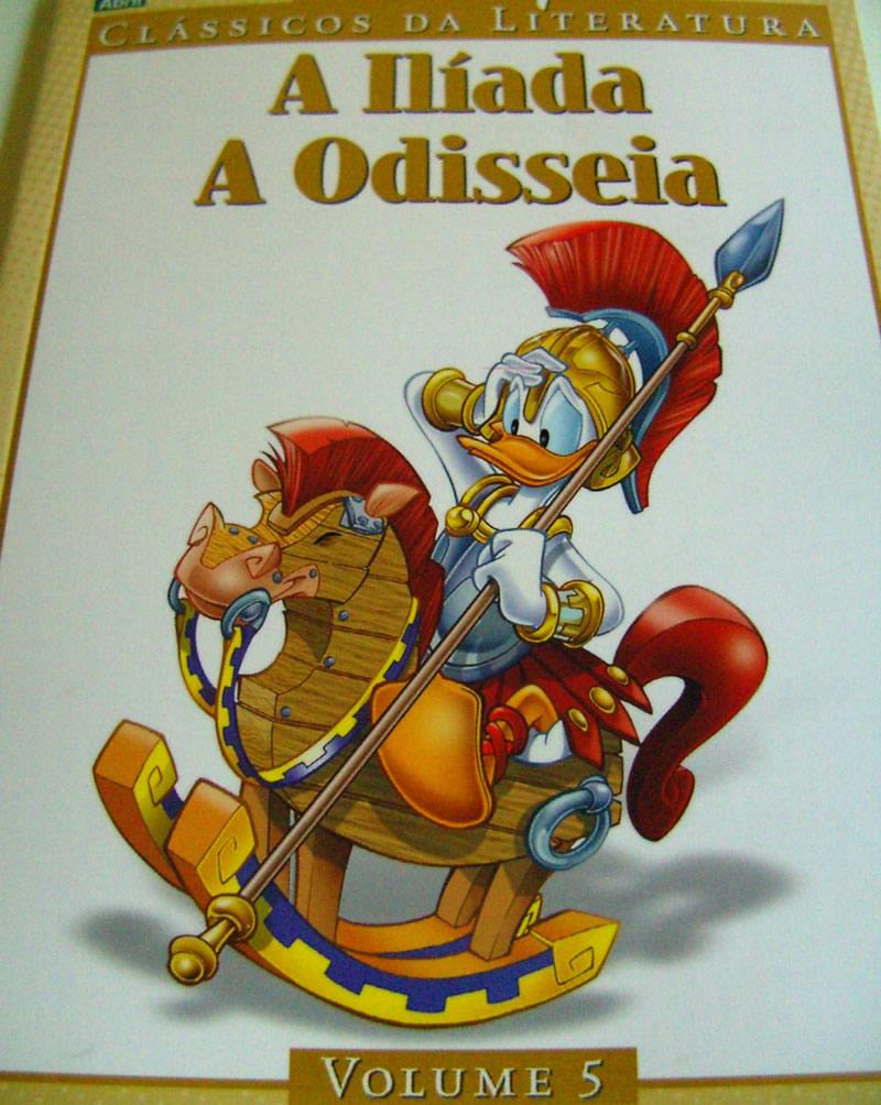 Photo of Clássicos da Literatura Disney Vol. 5 já nas bancas! – [A Ilíada e A Odisseia]