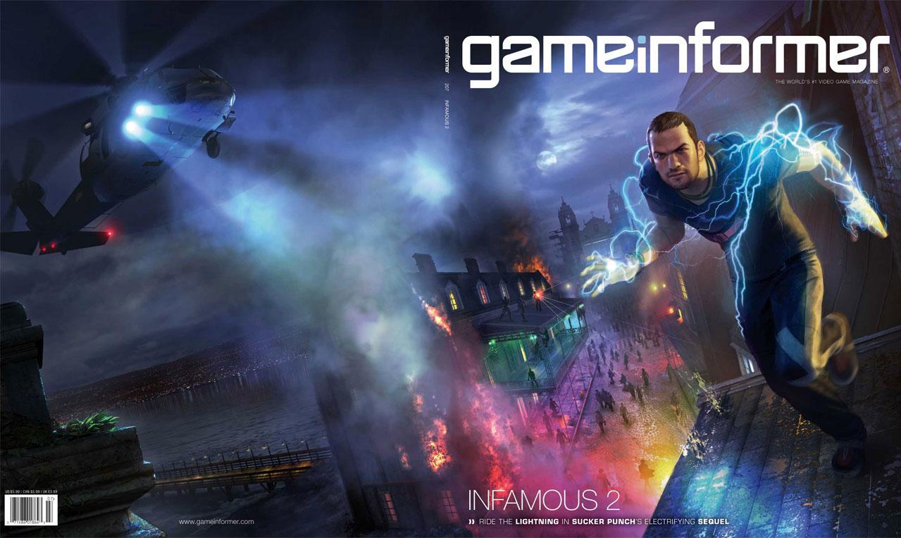 Photo of Infamous 2 é revelado na capa da edição de Julho da Game Informer! [PS3]
