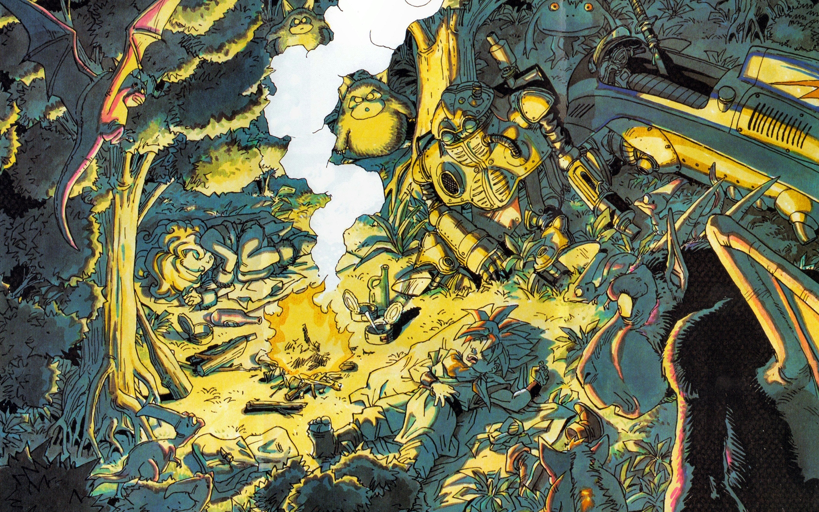 Photo of Wallpaper do dia: Chrono Trigger!