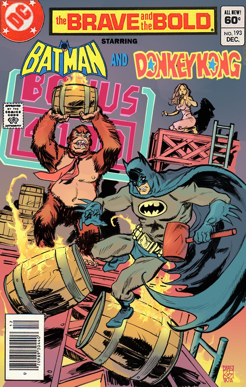 Photo of HQ que não existe: O Macaco e o Morcego!? (PicArt)