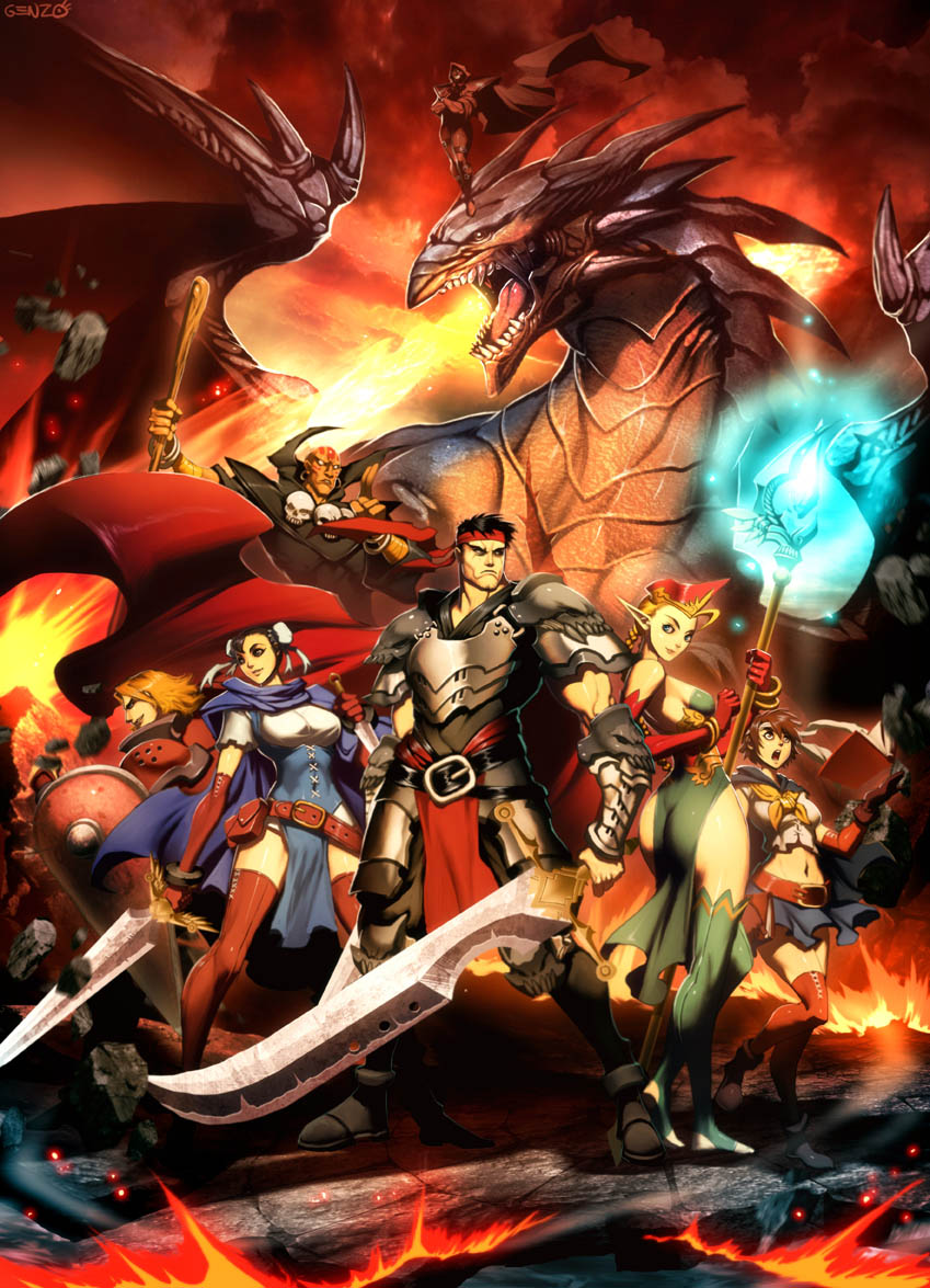 Photo of E se… Street Fighter fosse um game do gênero RPG do tipo Dungeons & Dragons? [PicArt]