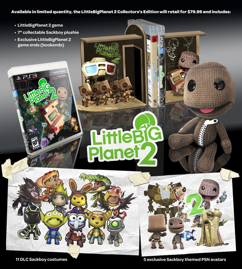 Photo of Edição de Colecionador de LittleBigPlanet 2 a caminho! [PS3]
