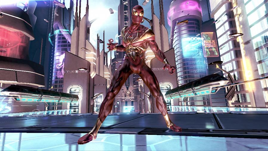 """Photo of Homem-Aranha """"de Ferro"""" confirmado em Shattered Dimensions pela Amazon [Wii,PS3,360]"""