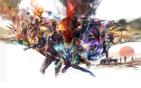 Photo of Wallpaper do dia: Mass Effect!