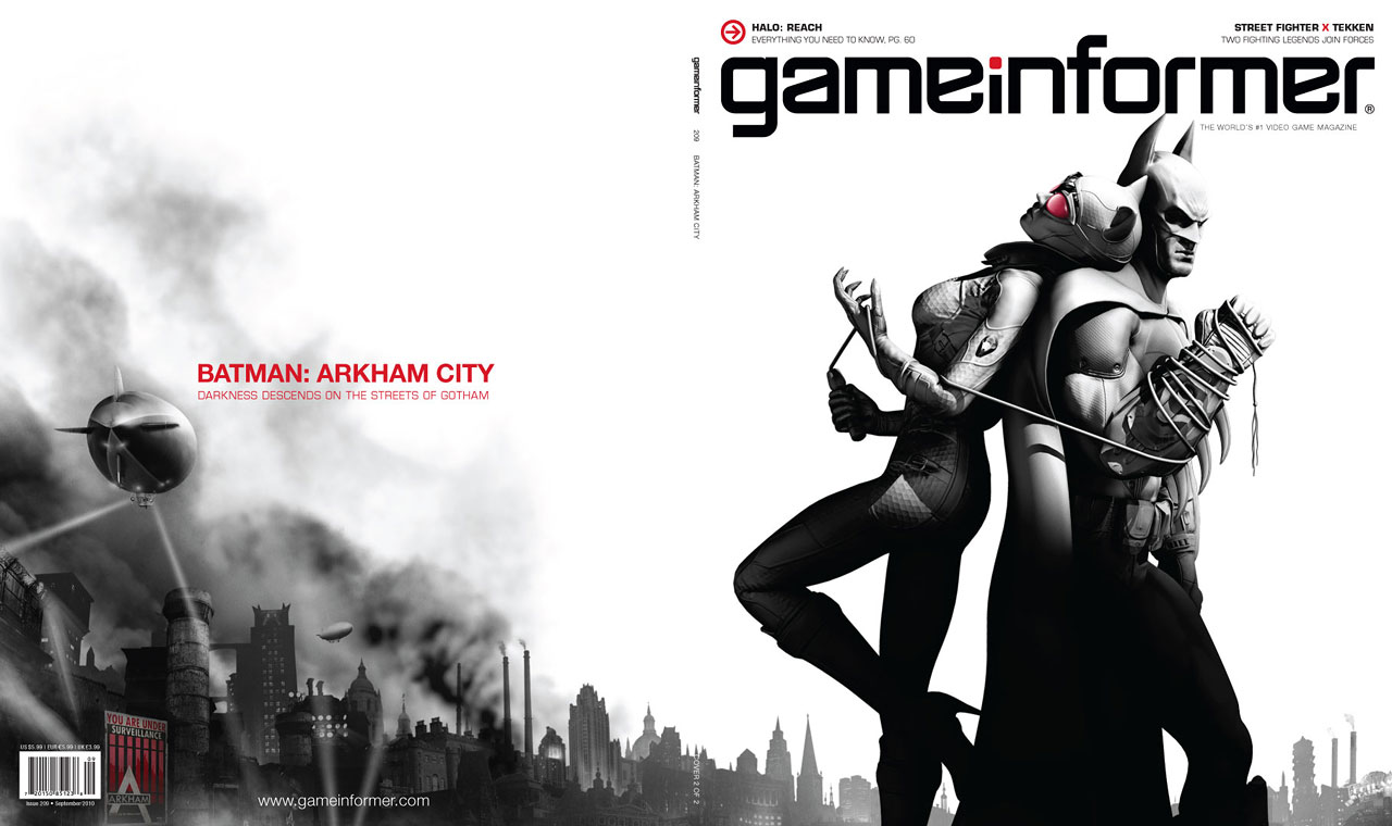 Batman: Arkham City - GameInformer 2