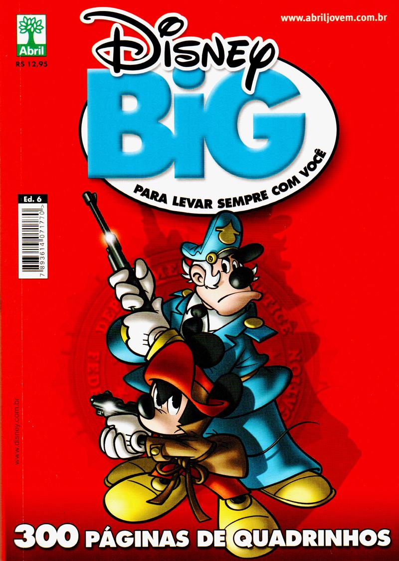 Photo of Disney Big 6 nas bancas! Revistona de 300 páginas! Veja a seleção e os destaques da edição!