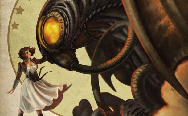 Photo of Bioshock Infinite na capa da Game Informer de Outubro!