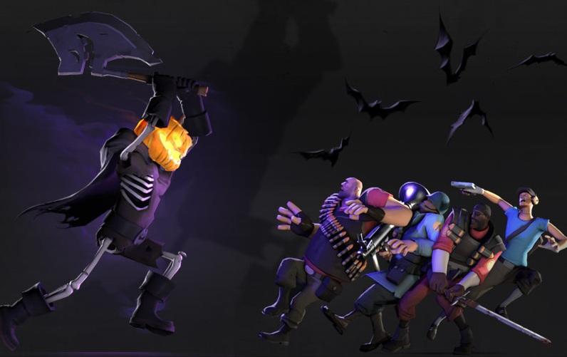 Photo of Promoções ou Updates? Steam e Team Fortress 2 em clima de Halloween! [PC]