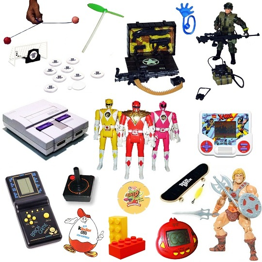 Nostalgia tecnológica: Alguns dos brinquedos que fizeram a cabeça da molecada! [Dia das Crianças]