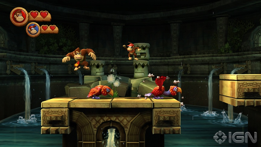 Photo of Donkey Kong Country Returns ganha mais um vídeo com gameplay! B-Roll Trailer! [Wii]