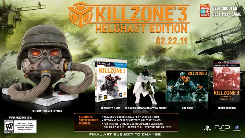 Killzone 3 – Helghast Edition: Quero uma dessas aqui em casa! [PS3]