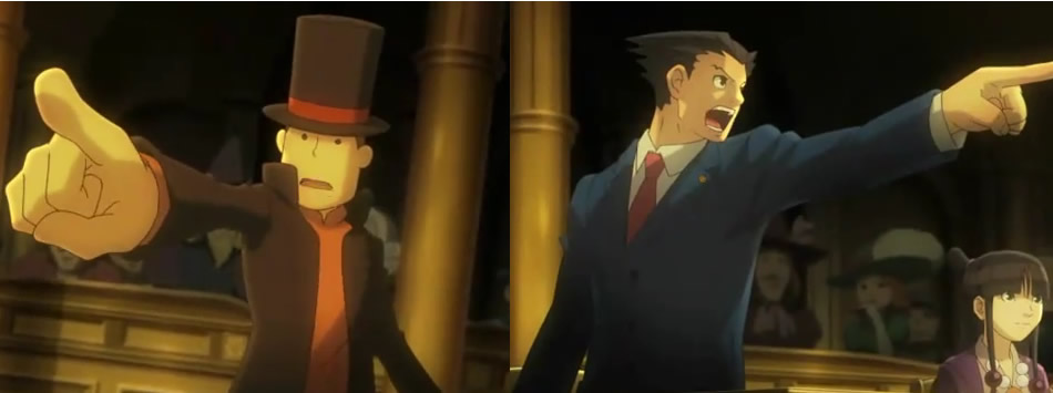 Professor Layton vs. Phoenyx Wright