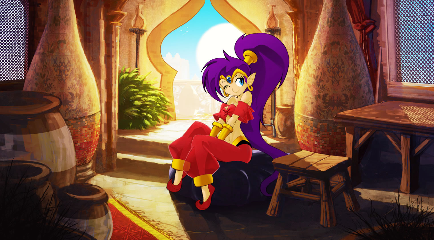 Photo of Shantae chega trazendo beleza ao DSiWare! [DSi/Wii]
