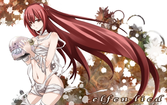 Photo of Wallpaper do dia: Elfen Lied!