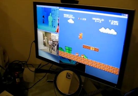 Photo of Você teria paciência para jogar Super Mario no Kinect? [YouTube]
