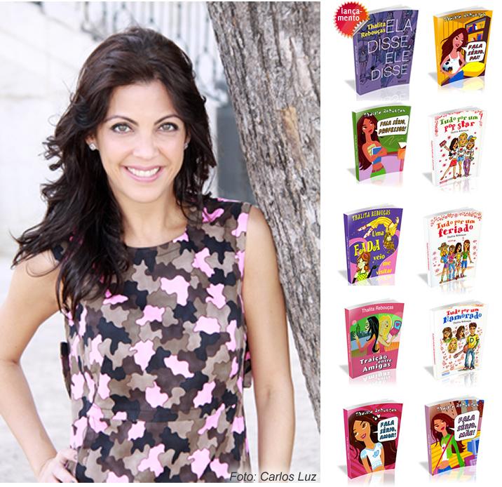 Portallos Entrevista: Thalita Rebouças – escritora best seller, repórter teen da Globo e pop star!