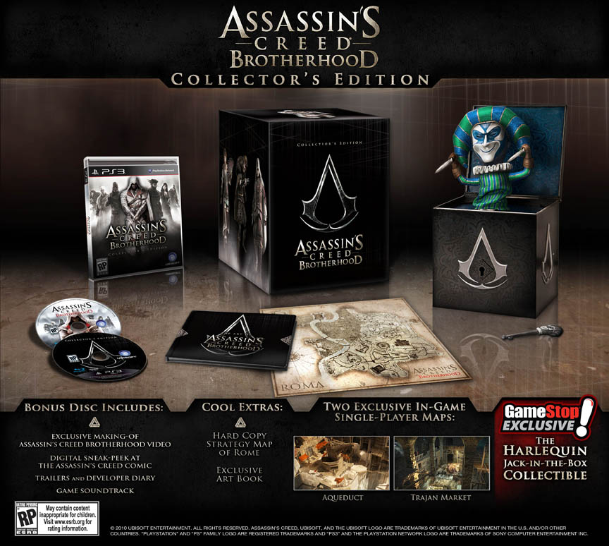 Photo of Assassin's Creed Brotherhood Collector's Edition, isto eu quero aqui em casa! [PS3/X360]