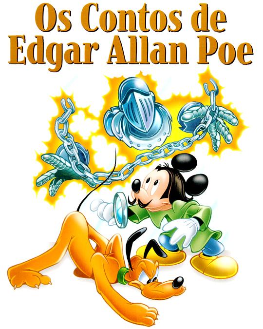 Photo of Clássicos da Literatura Disney #25 desta semana tem Mickey em série inédita e completa! [Edgar Allan Poe]