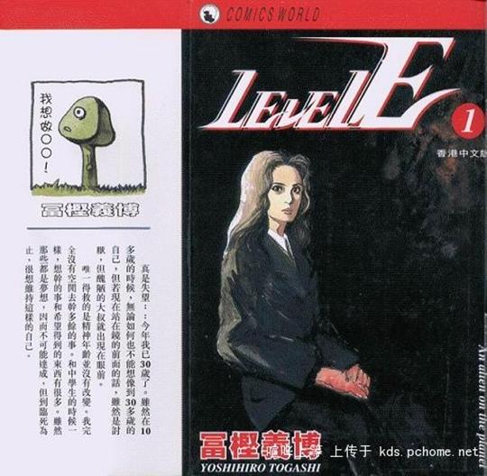 Photo of Anime: Estúdios desenterrando algumas pérolas! Level-E de Yoshihiro Togashi é a bola da vez!
