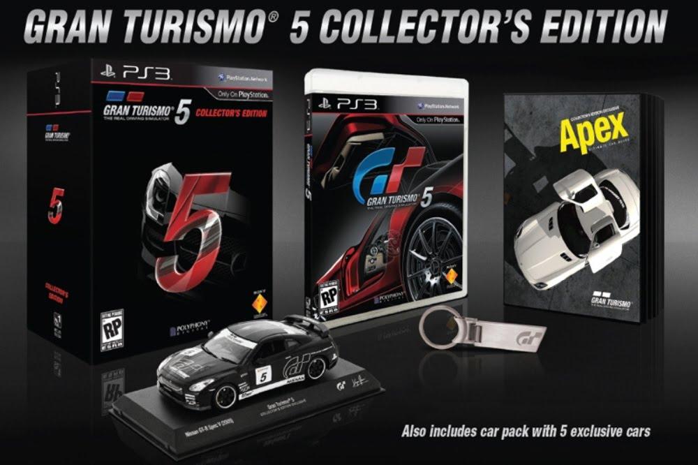 Photo of Gran Turismo 5 Collector's Edition em pré-venda, confira o conteúdo! [PS3]