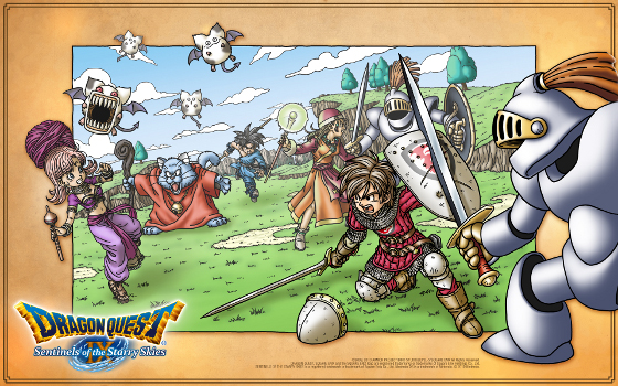 Photo of Dragon Quest IX mostra que os JRPGs continuam brilhantes! [DS] [Impressões]