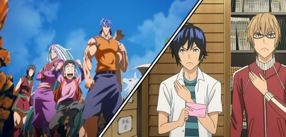 Photo of Animes 2011: Toriko finalmente ganha seu anime e Bakuman está renovado por mais uma temporada!