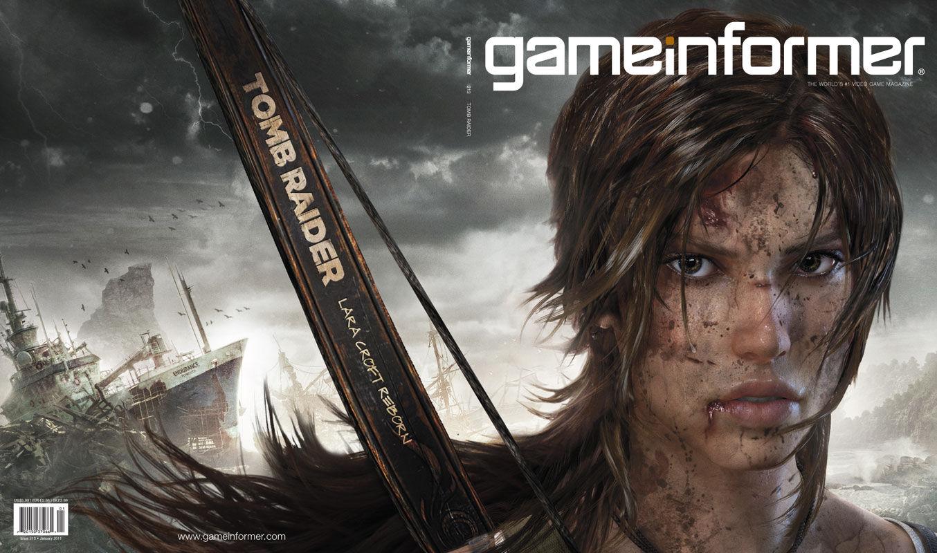 Photo of Novo Tomb Raider revelado na capa da Game Informer! Tem tudo para dar certo!